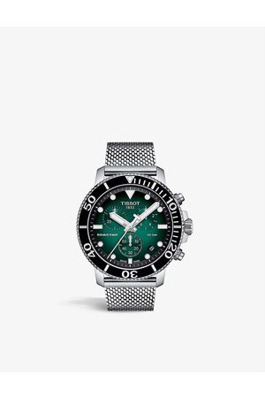 Tissot T1204171109100 Seastar Chrono stainless steel quartz watch