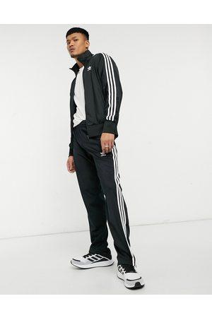 adidas Adicolor Firebird three stripe joggers in