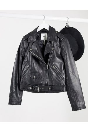 Object Real leather jacket in