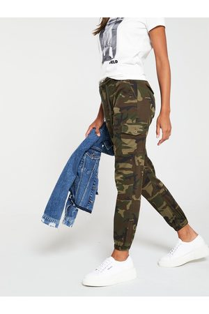 V by Very Tall Camouflage Print Utility Jogger - Print
