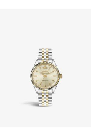 Vivienne Westwood Watches VV242CMSG Seymour stainless steel quartz watch