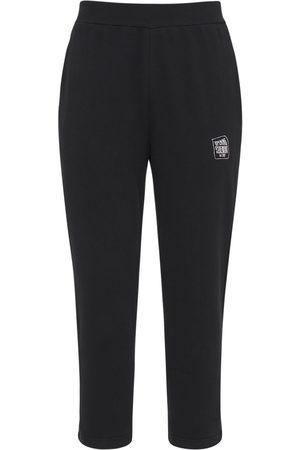 Opening Ceremony Warped Logo Cotton Jersey Sweatpants