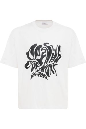 Opening Ceremony Melted Logo Cotton Jersey T-shirt