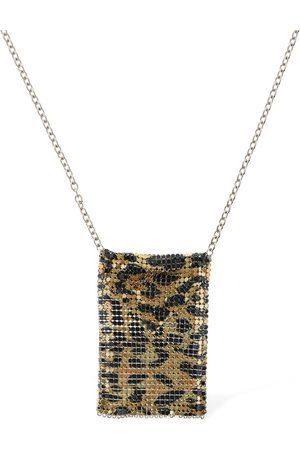 Paco rabanne Printed Mini Mesh Necklace