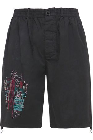 McQ Men Ties - Eden High Tie Dye Cotton Shorts