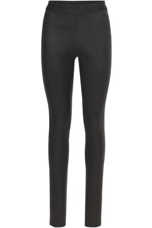 ANN DEMEULEMEESTER Leather Pants