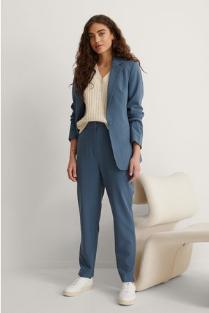 NA-KD Tapered Suit Pants - Blue