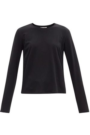 The Row Sherman Cotton-jersey Long-sleeved T-shirt - Womens