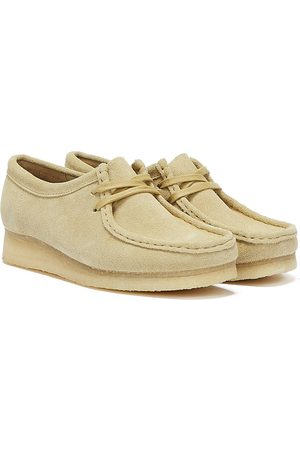 Clarks Women Trainers - Wallabee Suede Womens Shoes