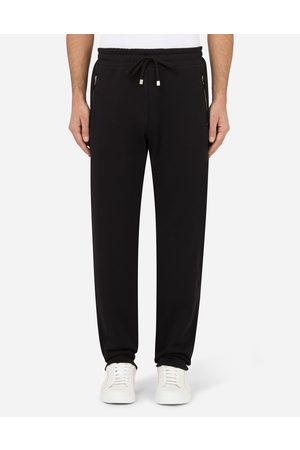 Dolce & Gabbana Trousers and Shorts - Cotton jogging pants male 46