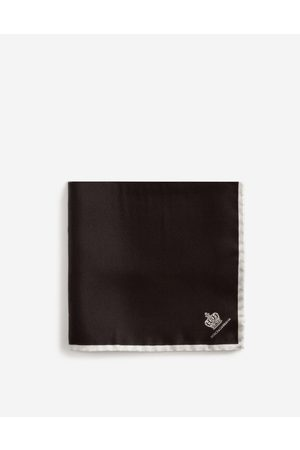 Dolce & Gabbana Ties and Pocket Squares - Silk pocket square male OneSize