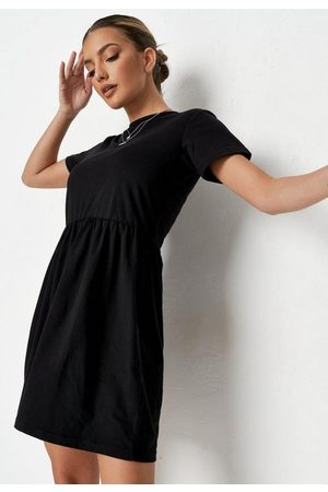 Missguided Short Sleeve Smock Dress