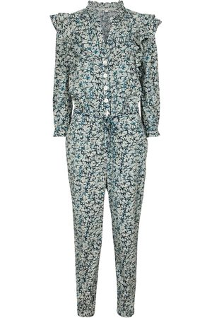 VERONICA BEARD Tanay printed cotton jumpsuit
