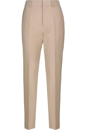 Ami High-rise twill cigarette pants