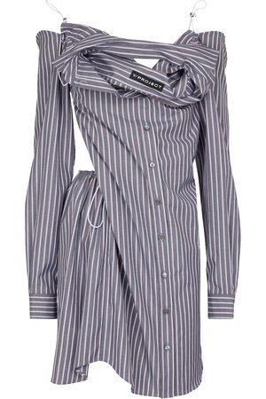 Y / PROJECT Women Casual Dresses - Striped cotton shirt dress