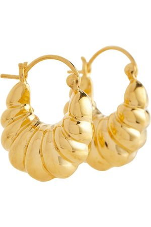 Sophie Buhai Women Earrings - Shell 18kt vermeil hoop earrings