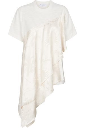 J.W.Anderson Women Asymmetrical Dresses - Asymmetric cotton T-shirt