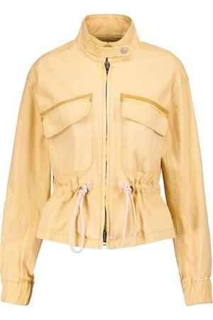 VERONICA BEARD Women Summer Jackets - Roz drawstring cotton jacket