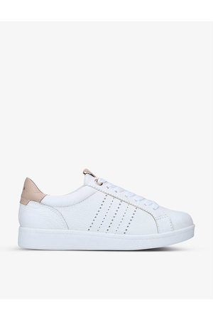 Carvela Comfort Cash lace-up low-top leather trainers