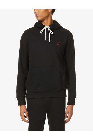 Polo Ralph Lauren Brand-embroidered cotton-blend jersey hoody