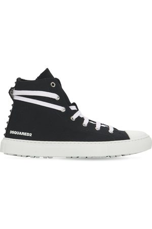 Dsquared2 20mm San Diego Cotton Canvas Sneakers