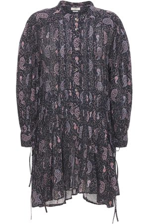 Isabel Marant Anaco Printed Cotton Mini Dress