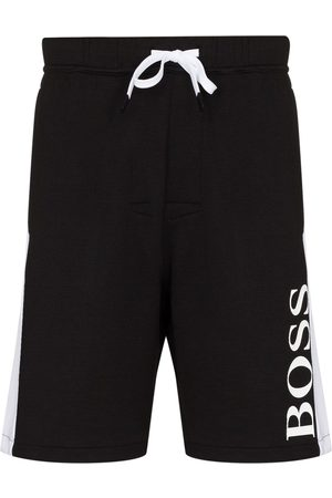 BOSS Men Sports Shorts - Logo-print track shorts
