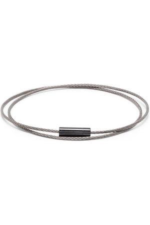 Le Gramme Bracelets - 11g brushed triple cable bracelet