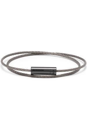 Le Gramme Bracelets - 7g polished double cable bracelet