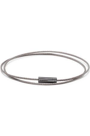 Le Gramme Bracelets - 11g polished triple cable bracelet