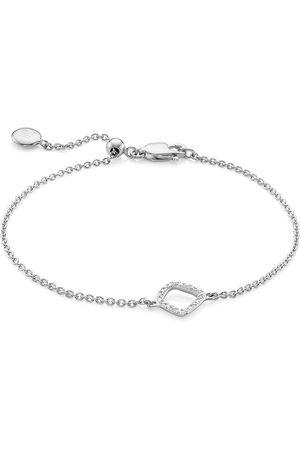Monica Vinader Riva Mini Kite diamond bracelet