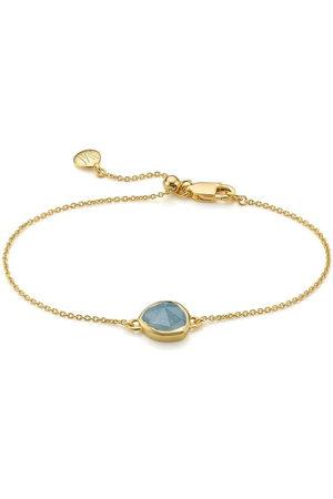 Monica Vinader 18kt vermeil Siren fine-chain bracelet