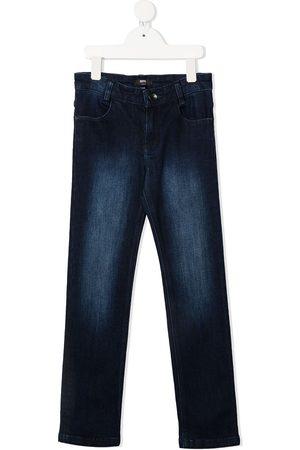 HUGO BOSS Boys Slim - High-rise slim-leg jeans