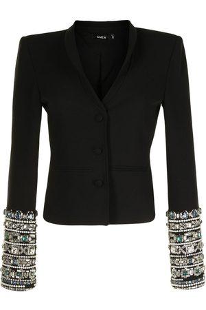 Amen Crystal-embellished blazer