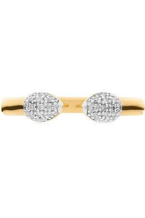 Monica Vinader Women Rings - Fiji Bud stacking diamond ring