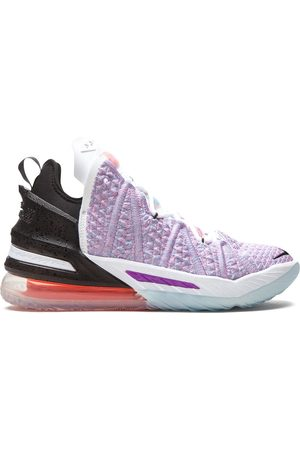 Nike LeBron 18 high-top sneakers