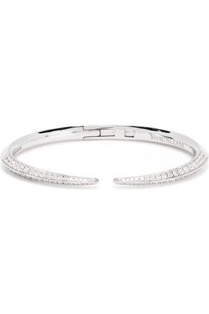 SHAUN LEANE Women Bracelets - 18kt white gold diamond Sabre bracelet