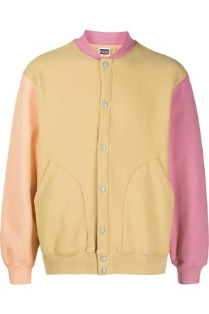 Levi's Fleece colour-block bomber jacket
