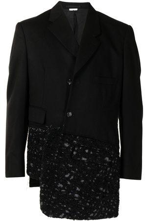 Comme des Garçons Panelled asymmetric blazer