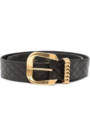 CHANEL Women Belts - Chain-detail quilted belt