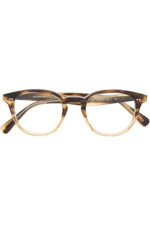 Oliver Peoples Desmon round-frame glasses - Neutrals