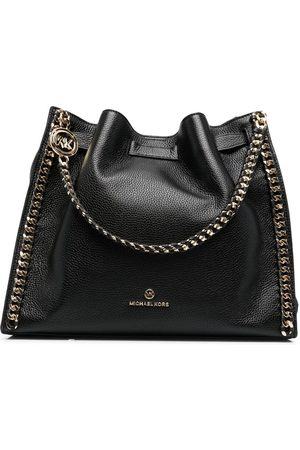 Michael Kors Chain-detail leather tote bag