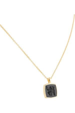 TOM WOOD Eros Cushion pendant necklace