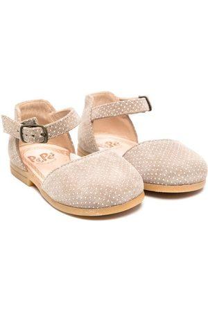 PèPè Polka-dot print sandals - Neutrals