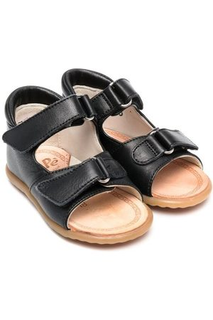 PèPè Buckle-fastening leather sandals