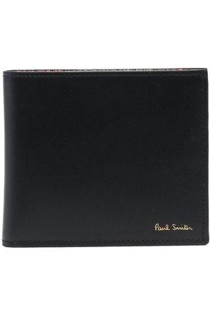 Paul Smith Artist stripe-print leather wallet