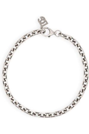 Dolce & Gabbana Logo-charm chain necklace