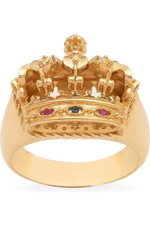 Dolce & Gabbana 18kt yellow crown ring