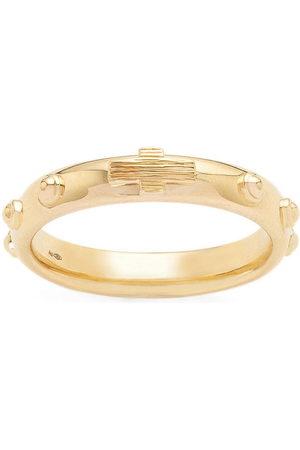 Dolce & Gabbana Men Rings - 18kt yellow studded band ring
