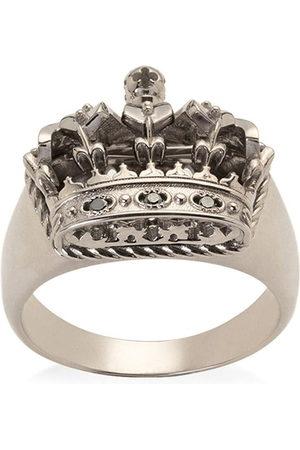 Dolce & Gabbana Men Rings - 18kt gold crown ring